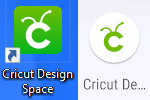 The Cricut Design Space icons.